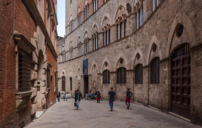 The old city of Siena, UNESCO World Heritage Site, Tuscany, Italy, Europe