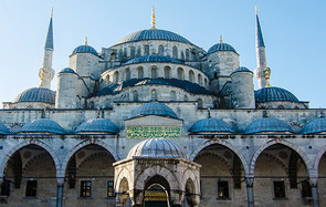 The Blue Mosque in Istanbul Header