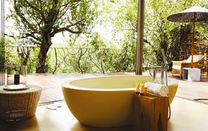 Molori Safari Lodge, South Africa, Bathtub