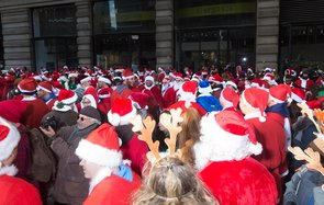SantaCon in New York