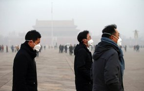 Beijing red alert for pollution