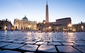Tourist returns cobblestone to Rome