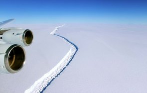Larsen C Ice Shelf Shift NASA Antarctica