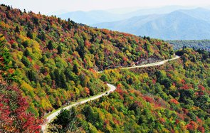 Blue Ridge Parkway National Park, North Carolina