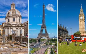 European Airline Hotel Prices Rise Next Year Rome Paris London Europe