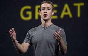 Mark Zuckerberg, chief executive officer and founder of Facebook Inc., speaks during the Oculus Connect 3 event in San Jose, California, U.S., on Thursday, Oct. 6, 2016. Facebook Inc. is working on a new virtual reality product that is more advanced than