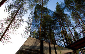Treehotel treehouse hotel, Harads, Sweden