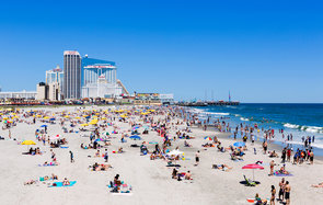 Atlantic City Beach New Jersey