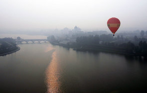 Hot Air Balloon in China