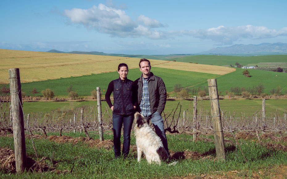 Chris and Andrea Mullineux of Mullineux & Leeu Family Wines