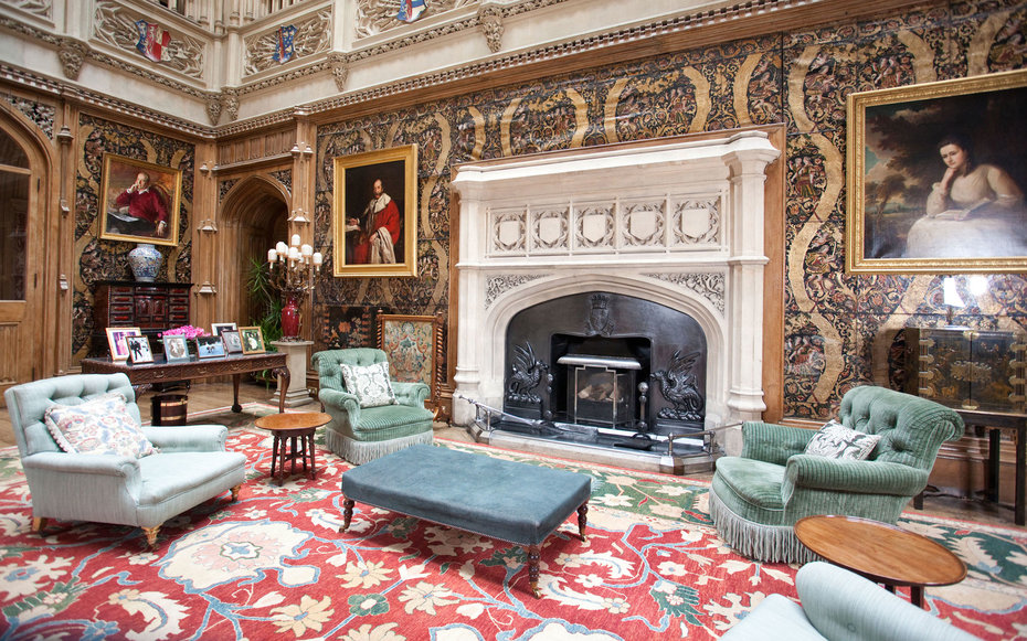 Behind The Scenes Secrets Of Downton Abbeys Highclere