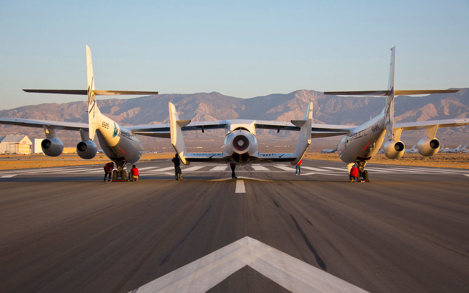 Virgin Galactic SpaceShip2 Test Flight