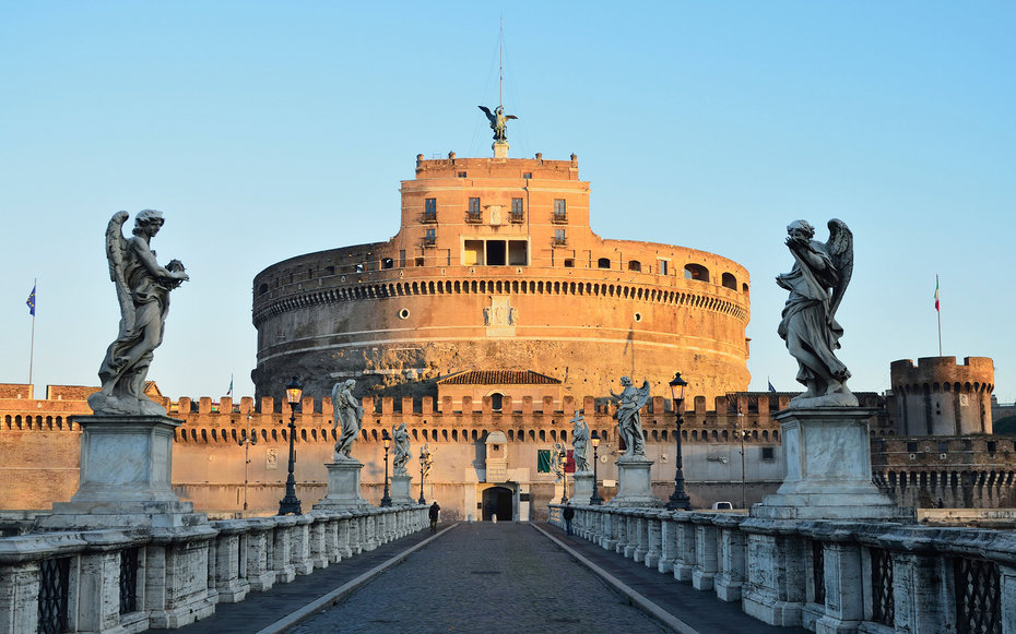 Castel Sant'Angelo Castle in Rome