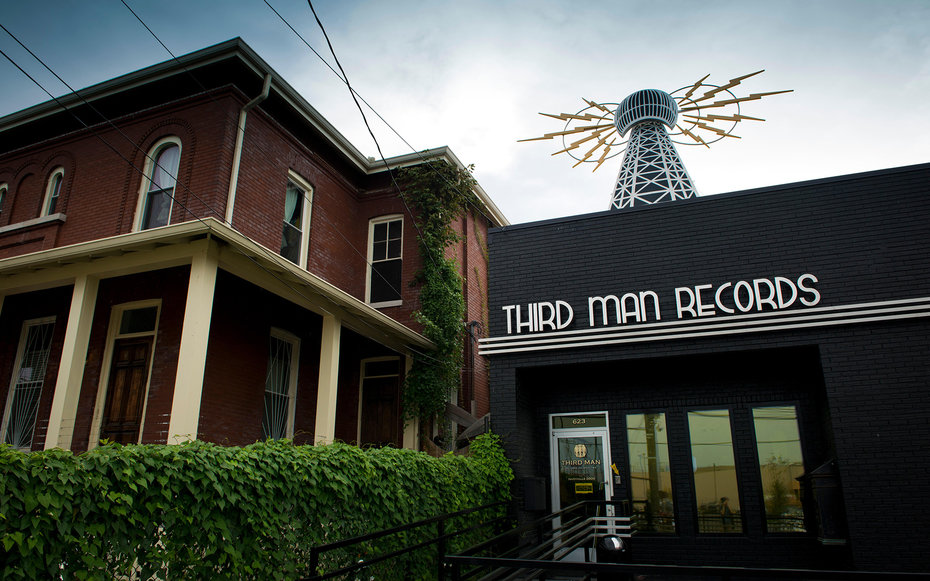 E9YP27 Third Man Records. Nashville, Tennessee