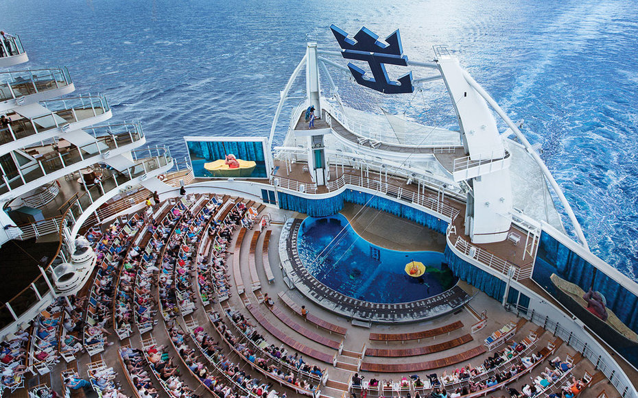 World s biggest cruises ship completes first trial for Best cruise lines in the world