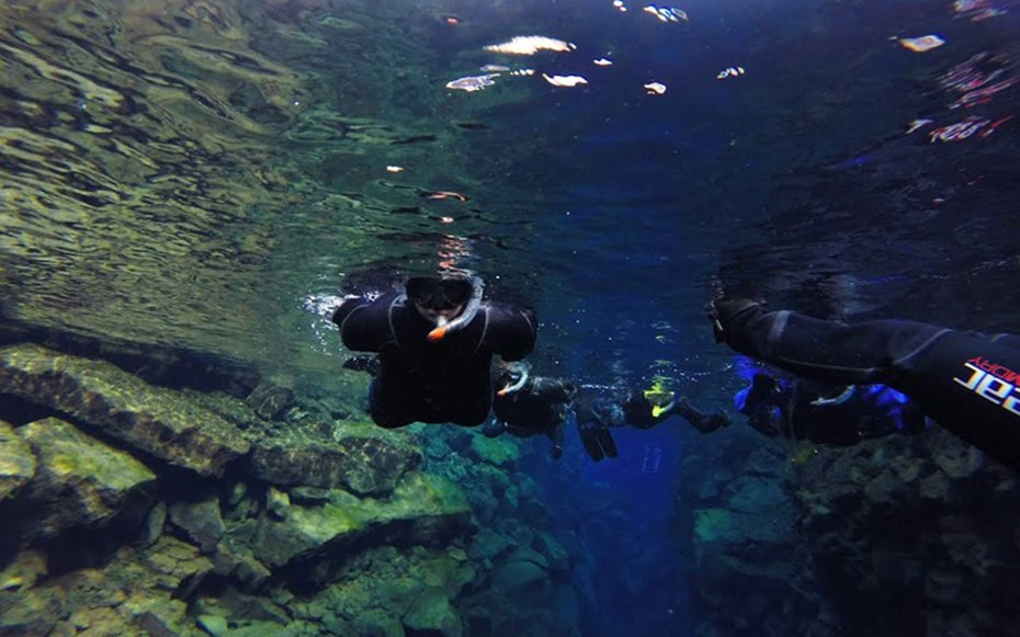 You Can Snorkel Between Two Tectonic Plates in Iceland