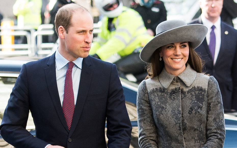 LONDON, ENGLAND - MARCH 14:  Prince William, Duke of Cambridge and Catherine, Duchess of Cambridge attend the Commonwealth Observance Day Service on March 14, 2016 in London, United Kingdom. The service is the largest annual inter-faith gathering in the U