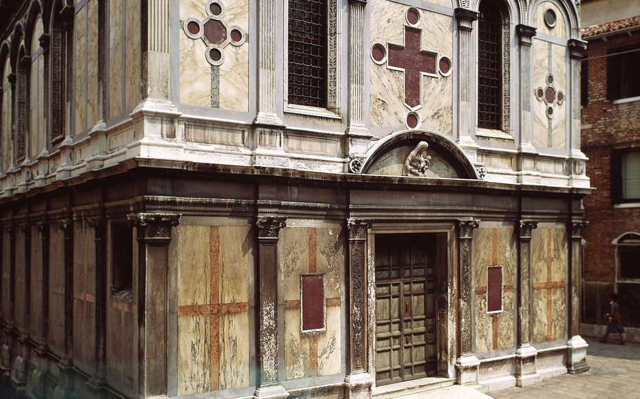 Chorus Church of Santa Maria dei Miracoli in Venice