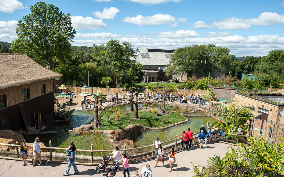 Pittsburgh Zoo & PPG Aquarium is located at One Wild Place, Pittsburgh ...