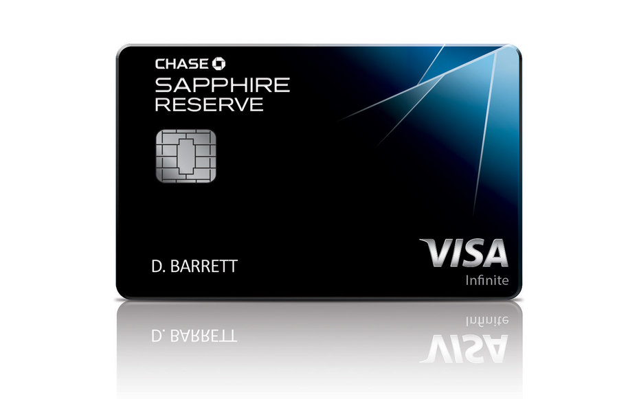 new chase sapphire reserve card has some pretty great