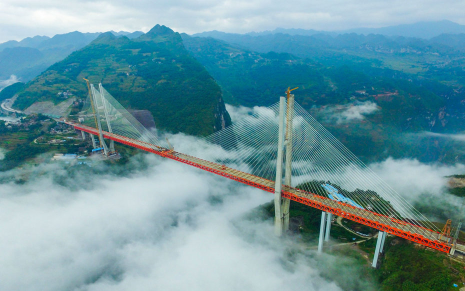 The World's Highest Bridge Will Open in China This Year | Travel + ...
