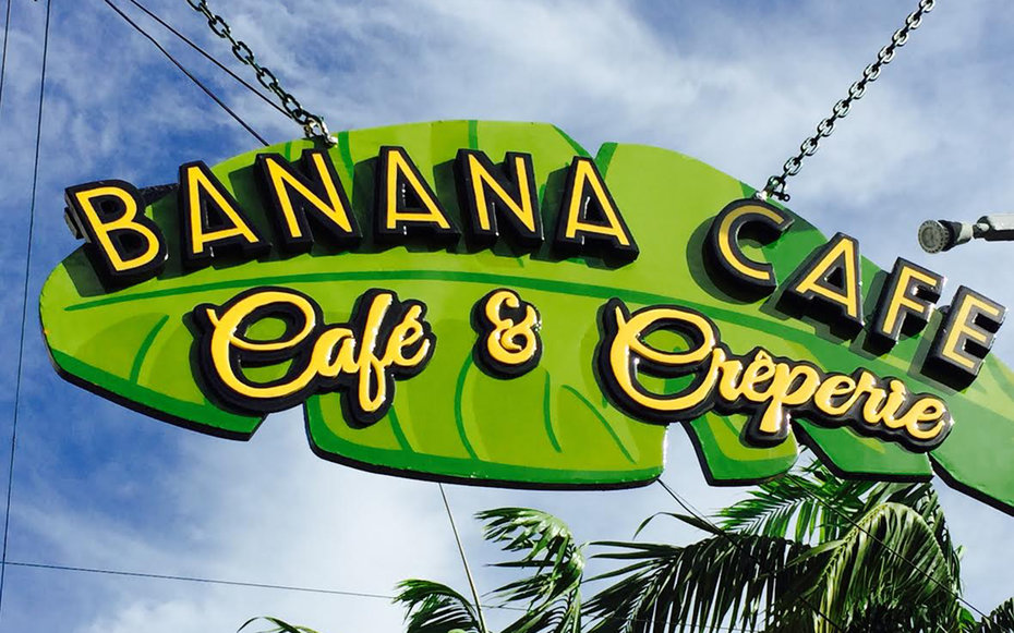 Banana Cafe in Florida Keys