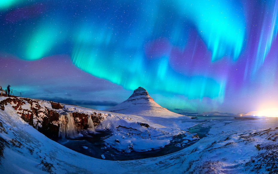 Northern Lights, from Iceland.