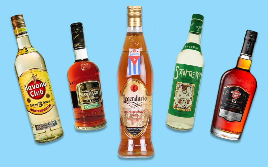 Cuban rums to bring home with you travel leisure for Best soda with rum