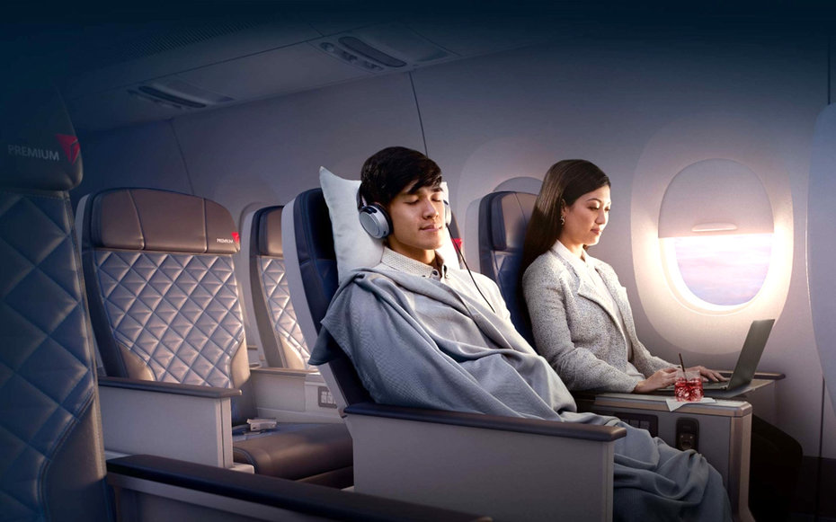 Four Of Our Favorite Things About Delta Premium Economy