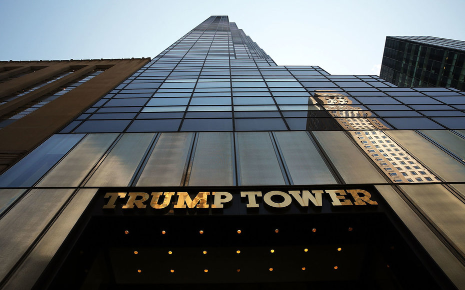 travel news trump apartment buildings