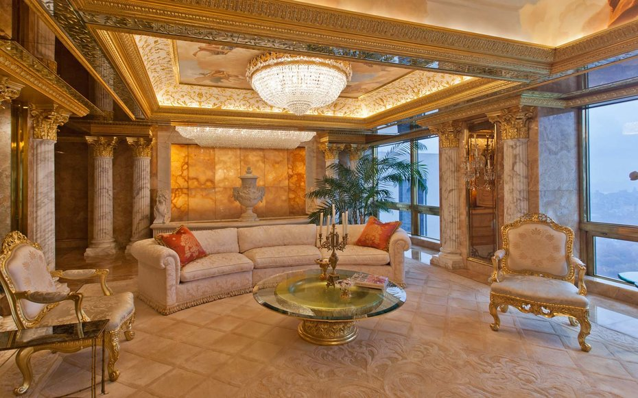 Inside Donald Trump S 100 Million Penthouse In New York