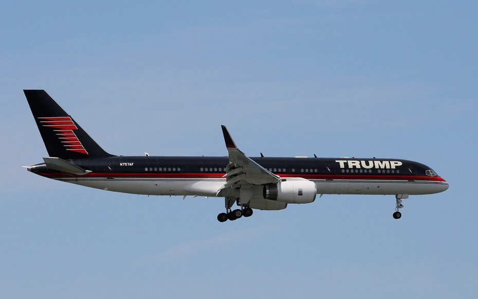 What Would Happen If Trump Chose His Personal Plane Over