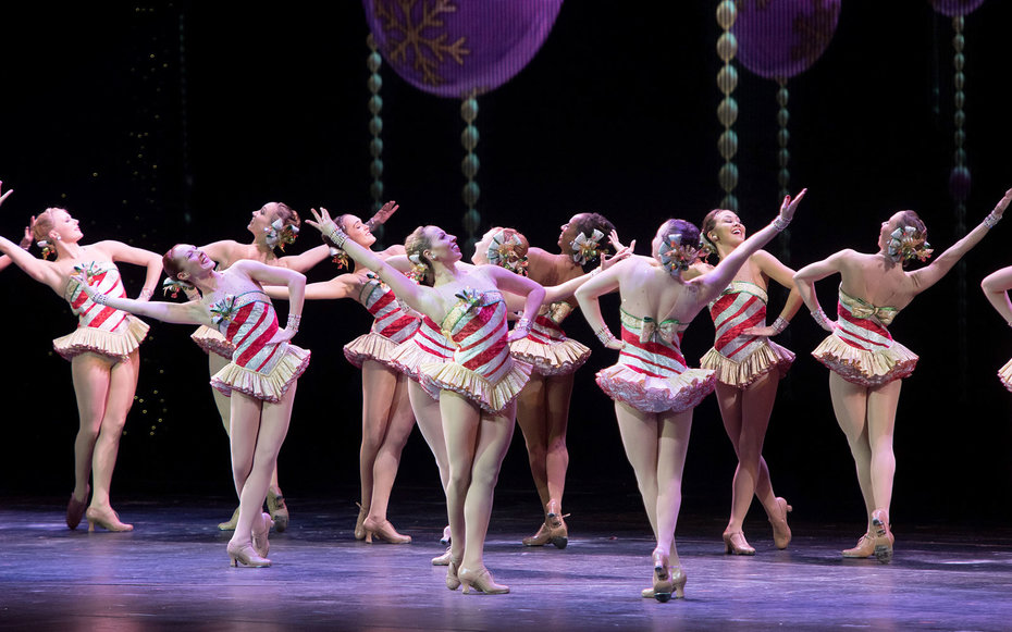Behind the scenes with the Rockettes at Radio City Music Hall.