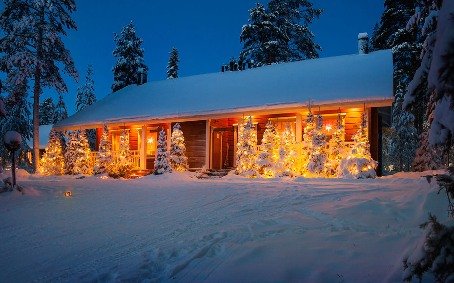 Christmas Chalet in Finland