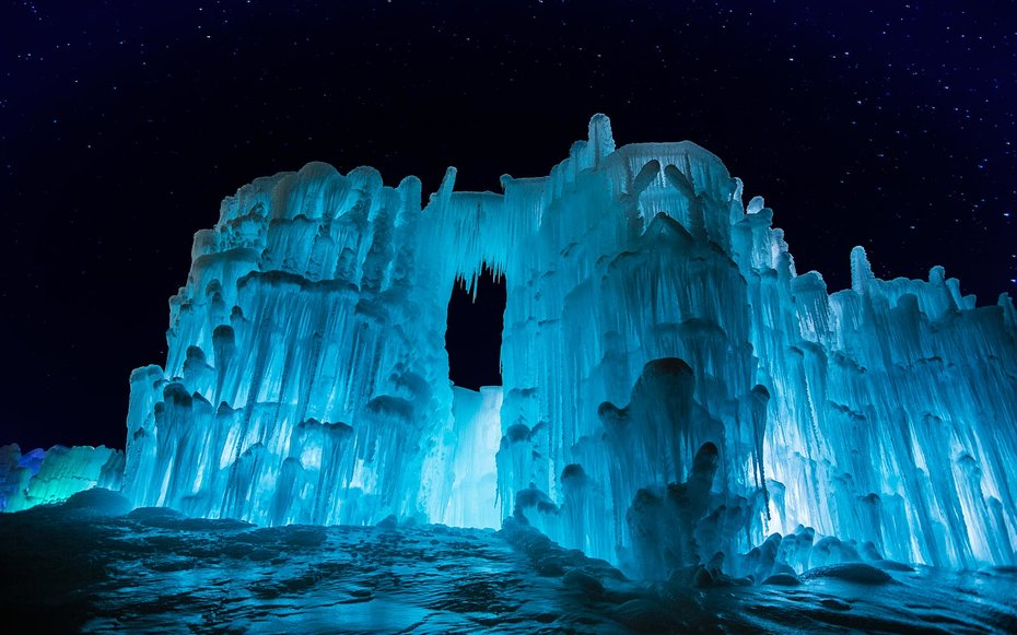 the midwest is home to some of the coolest ice castles we ve ever