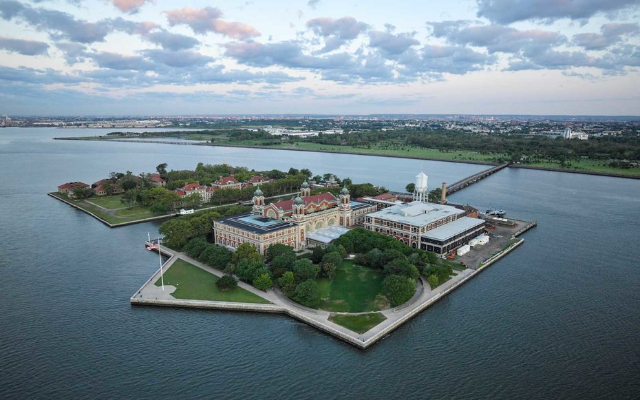 a history of the ellis island a gateway to america But first, the moore children and other steamship passengers with low-priced  tickets were taken to ellis island there, annie made history as the.