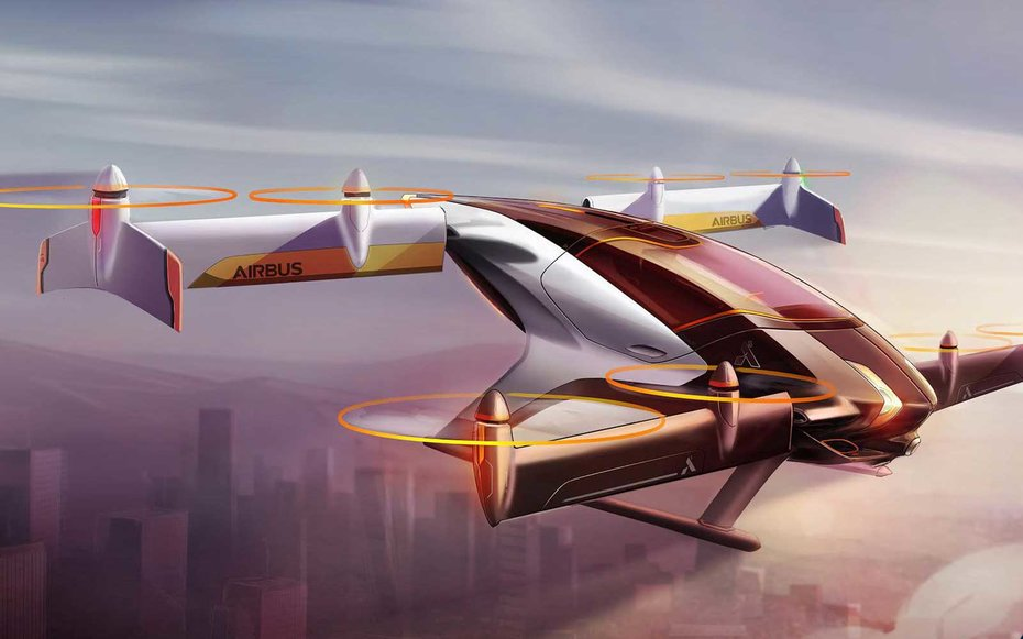 Airbus to Unveil Flying Urban Mobility Prototype by End of 2017