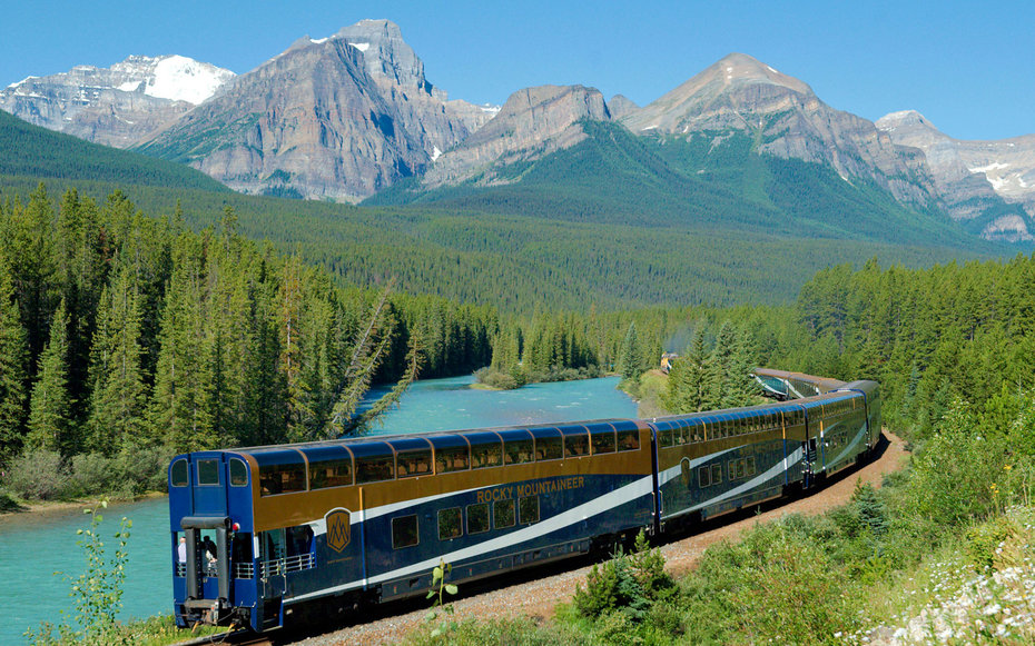 How To Take A Solo Luxury Train Trip Through Canada S