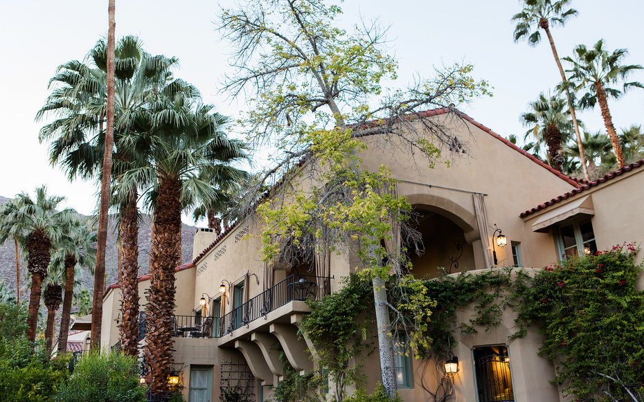 The Willows Historic Palm Springs Inn Hotel