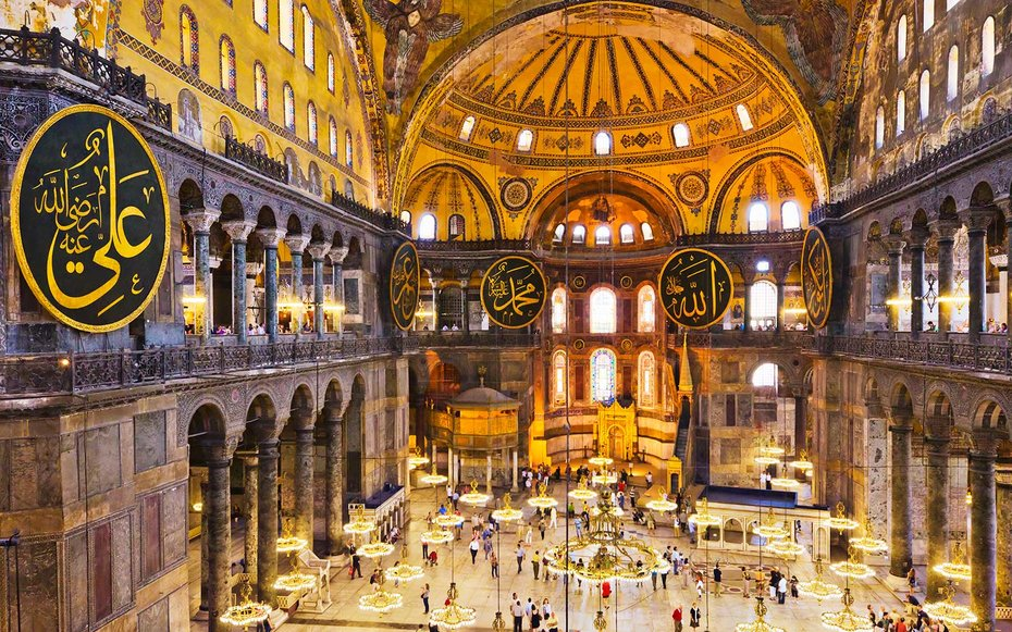 the church of hagia sofia istanbul Hagia sophia in istanbul:  whether as a church,  the hagia sofia is absolutely incredible, both in dimension and grandeur.
