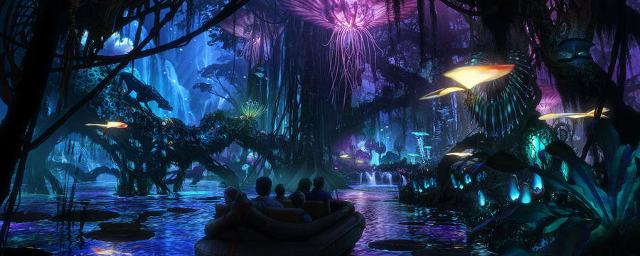 Walt Disney Imagineering in collaboration with filmmaker James Cameron and Lightstorm Entertainment is bringing to life the mythical world of Pandora.
