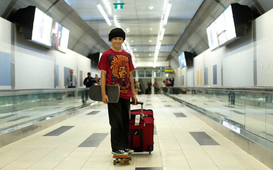 Travel With Skateboard