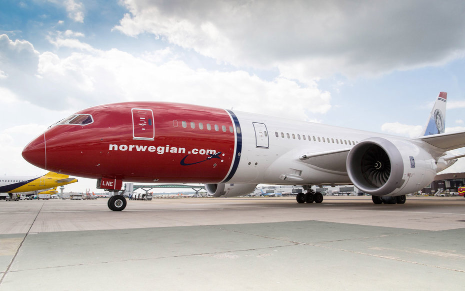 Norwegian Air: $65 To Europe