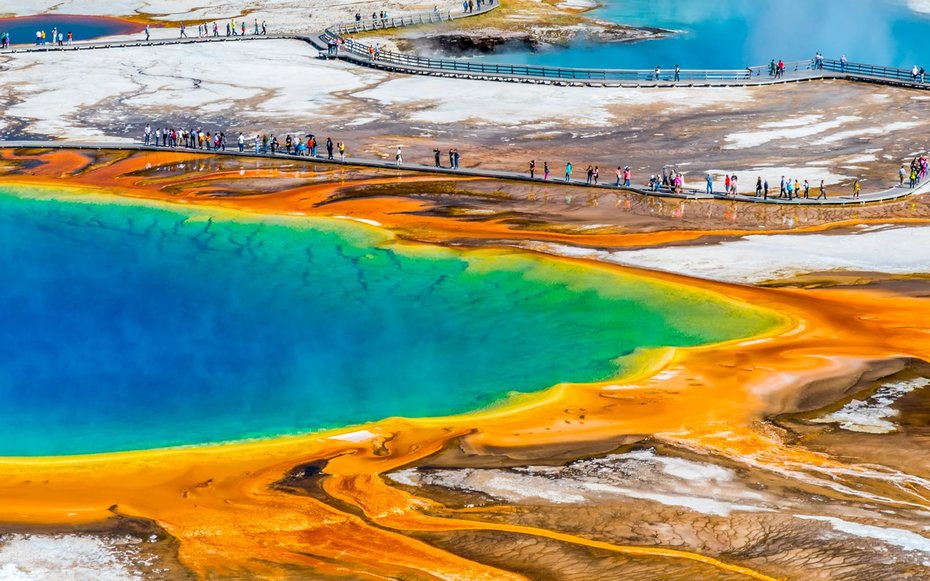 A Guide To Yellowstone National Park Travel Leisure