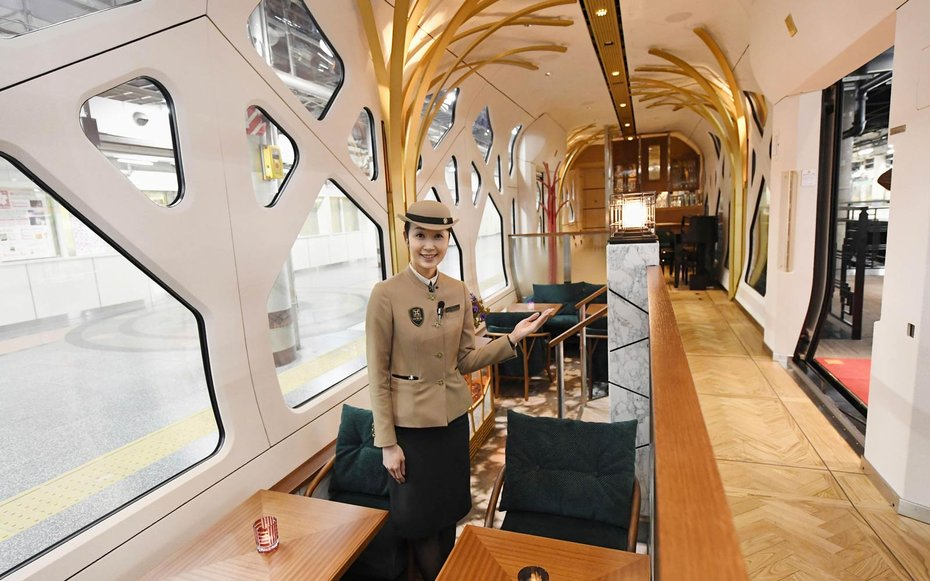 Ride Japan S Insane New Luxury Train From Ferrari S