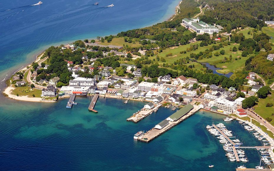 Image result for Mackinac Island, Michigan