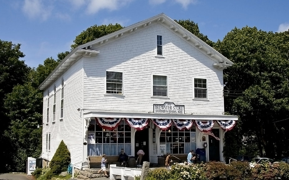 The Brewster Store in Cape Cod