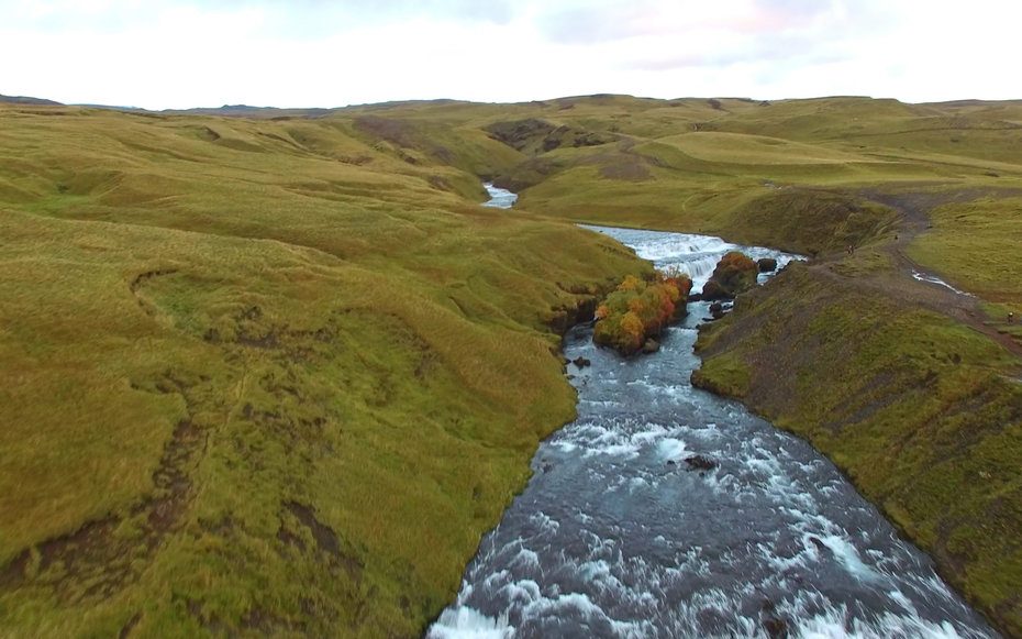 Take a Tour of Iceland by Drone