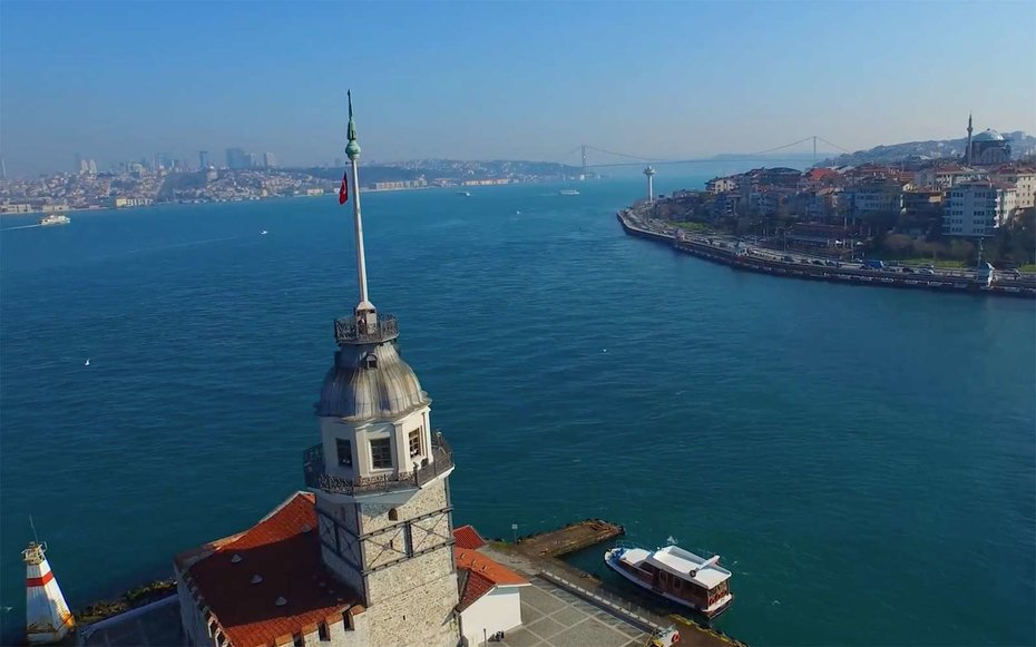 Need a Break? Here's a Drone Tour of Istanbul