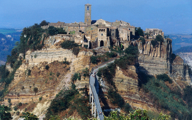 View of Civita di Bagnoregio